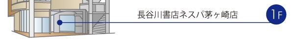 長谷川書店ネスパ茅ヶ崎店1階
